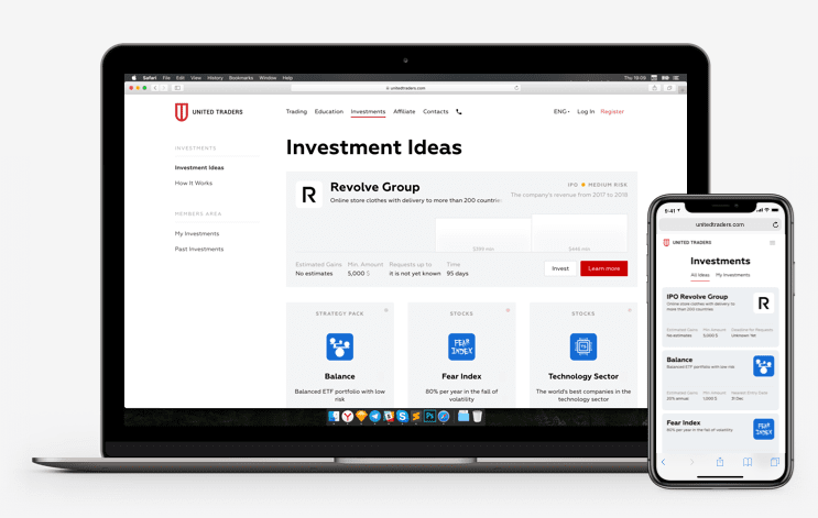 investment site example